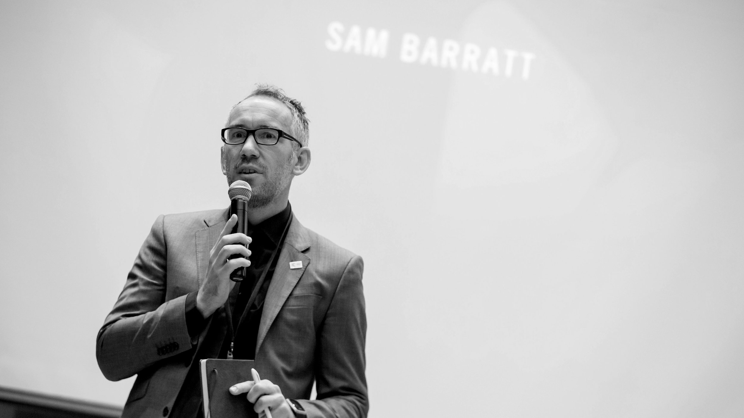 Sam Barratt, UN Environment Programme's Chief of Public Advocacy & Comms