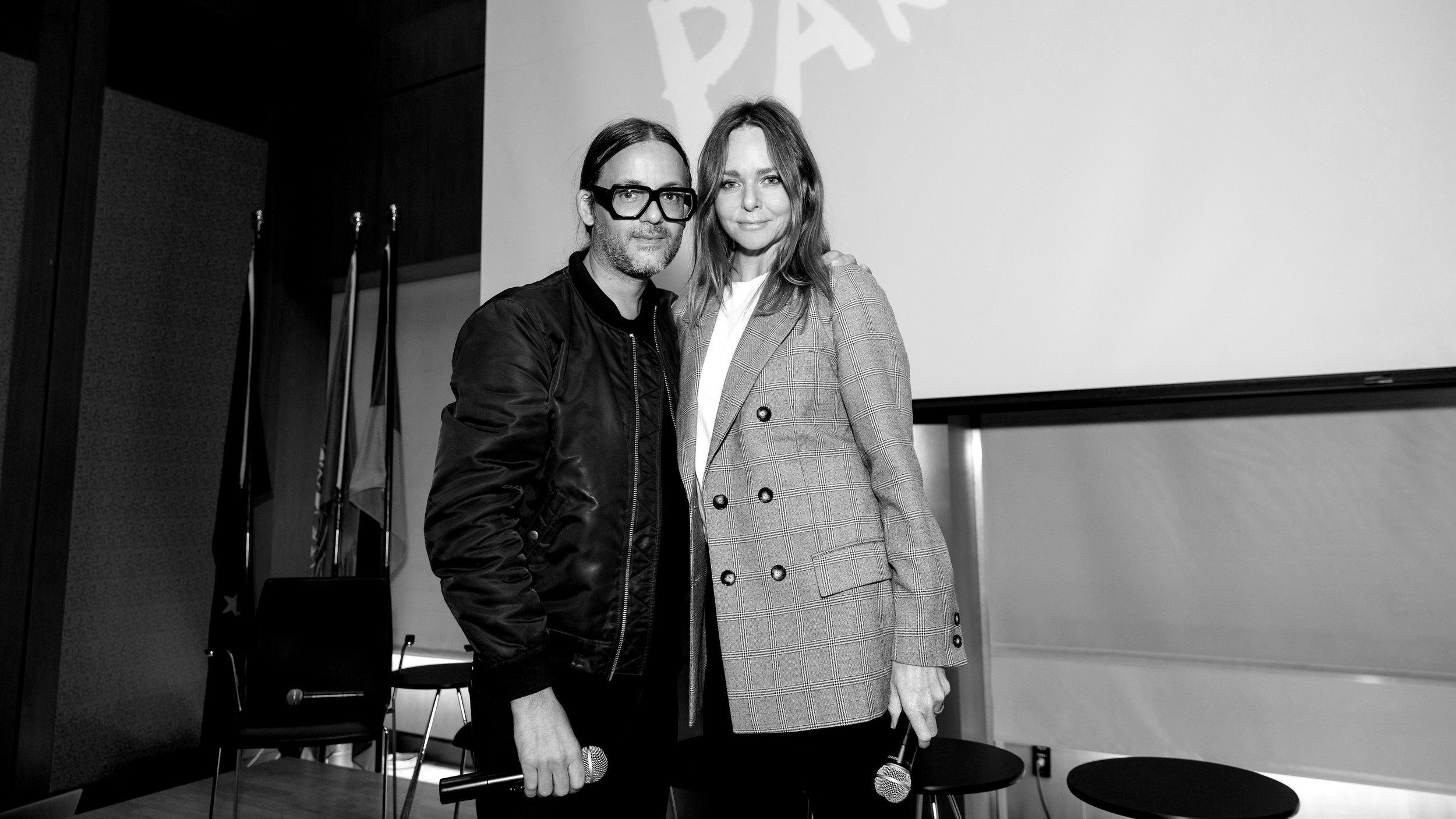 Parley founder Cyrill Gutsch and Stella McCartney