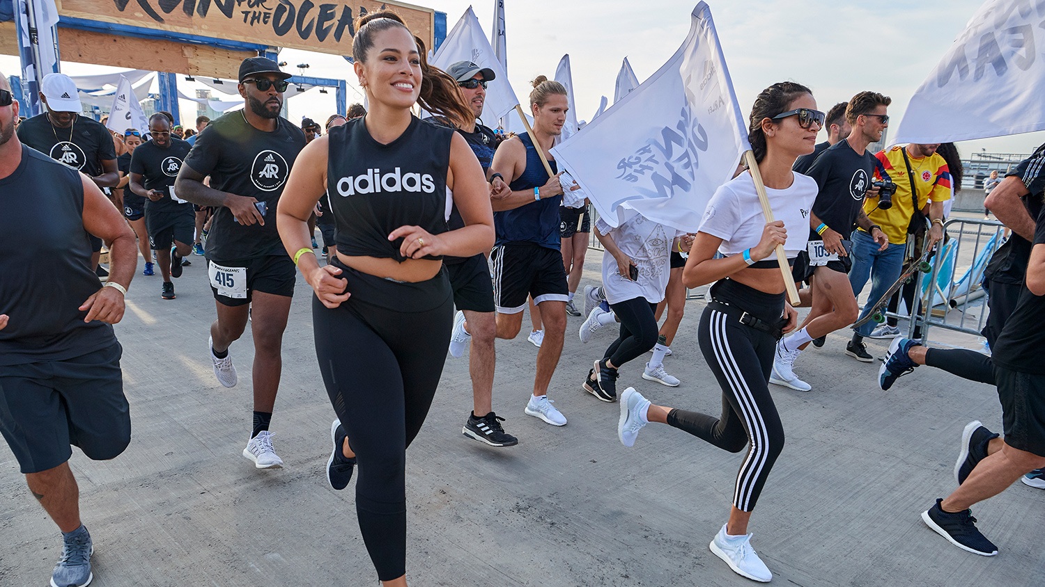 A RECORD-BREAKING RUN FOR THE OCEANS