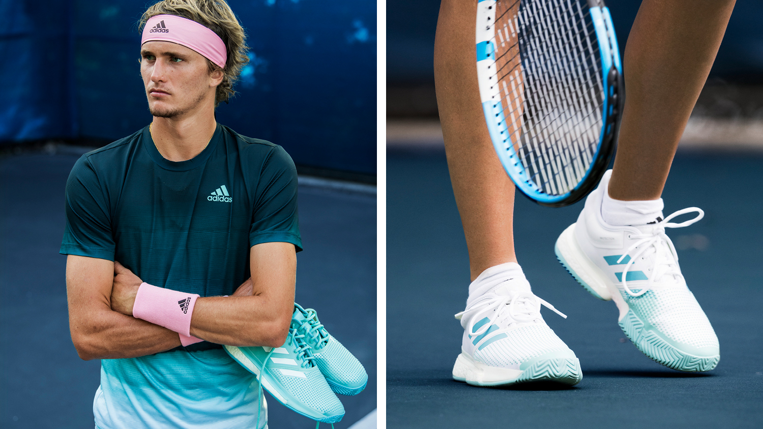 colore Discrepanza Mese  adidas Tennis x Parley: Play for the Oceans — PARLEY