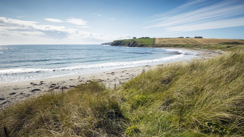 Dingieshowe Beach on Orkney Island © VisitScotland / Kenny Lam.