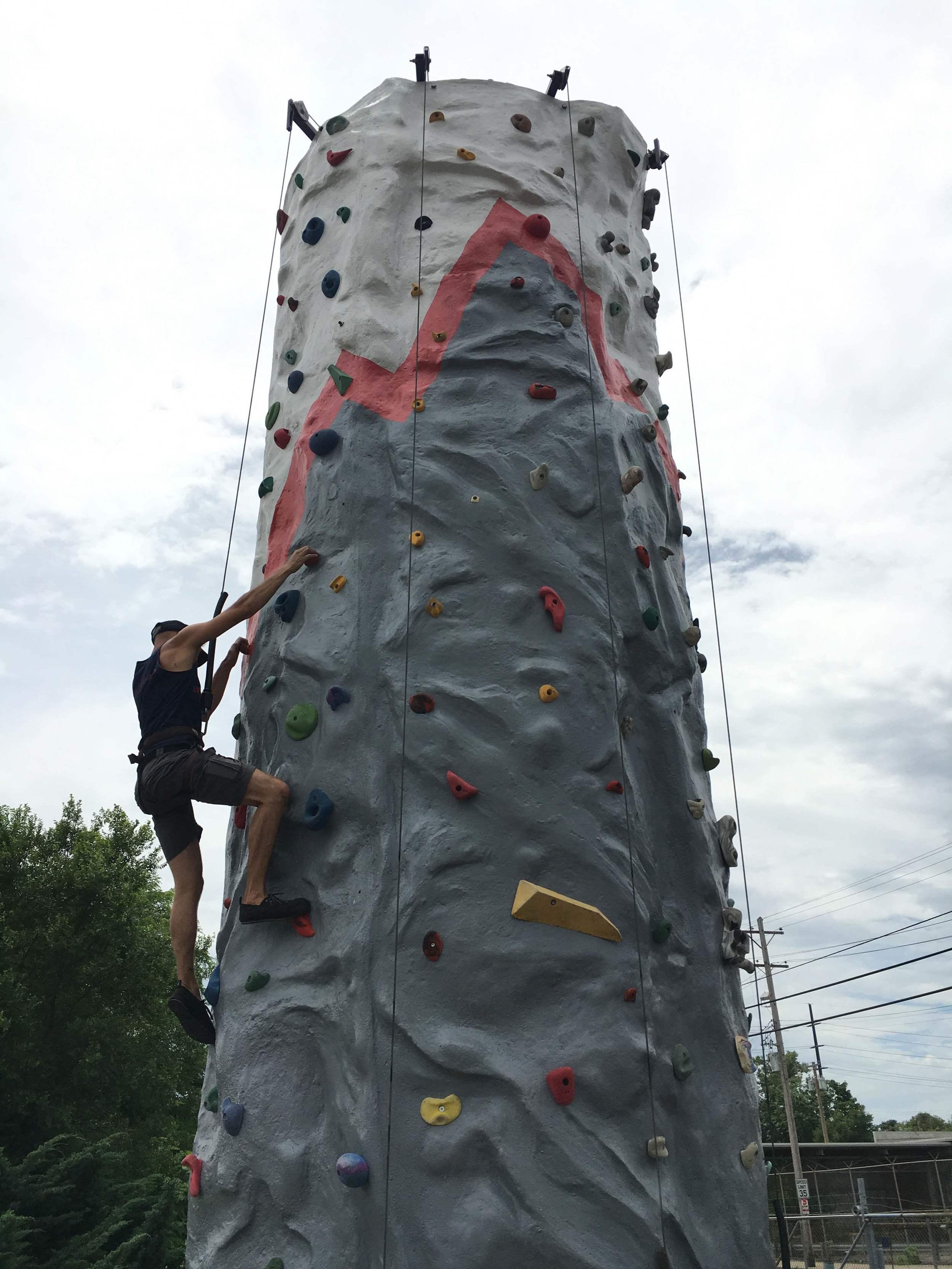 Louisville Mobile Climbing Wall