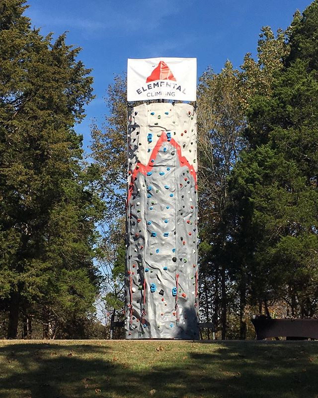 Come climb with us this Saturday at @jeffersonmemorialforest's 2017 Forest Fest!  We're excited to celebrate one our favorite places in Louisville. We will have free climbing for anyone in attendance from 1-5p. Hope to see you there. More information about the event can be found at JMF's event page on Facebook (link in profile). Send us a message to learn how Elemental Climbing can be a part of your next event.