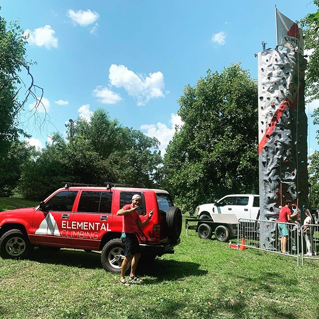 We had a blast at the West End Appreciation Day today!! Thanks @jeffersonmemorialforest for letting us be a part of this day! . . . . #rockclimbing #climbingwall #climbing #cwa #elementalclimbing #gooutside #shawneepark #louisville #troopermafia #isuzutrooper #outdoorliving #festival #party #publicparks #louisvillemetroparks #jeffersonmemorialforest #play #fun #summer #cookout #befree