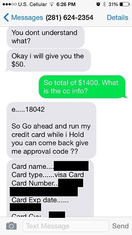 PSA: Credit Card Scam for Spa Owners & Service Industry Professionals etherealauraspa.com/blog