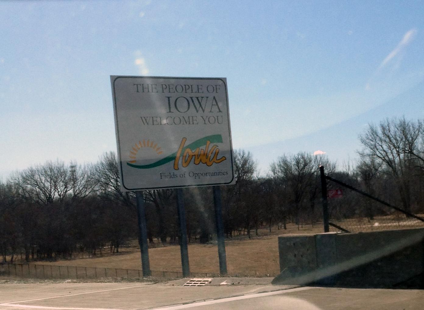 State #3. IOWA.