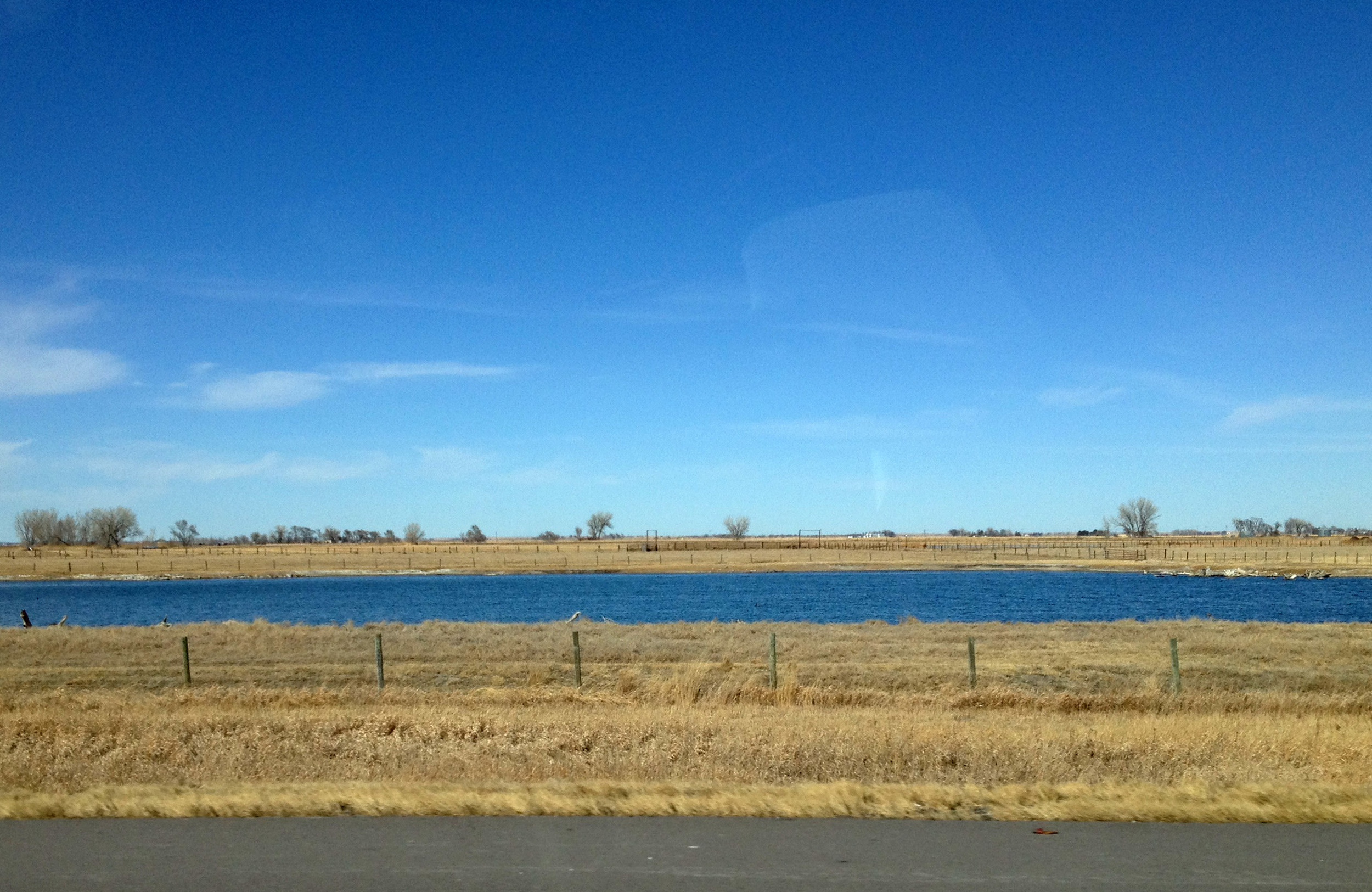 So much is going on in Nebraska! Look, there is some water! Amazing!