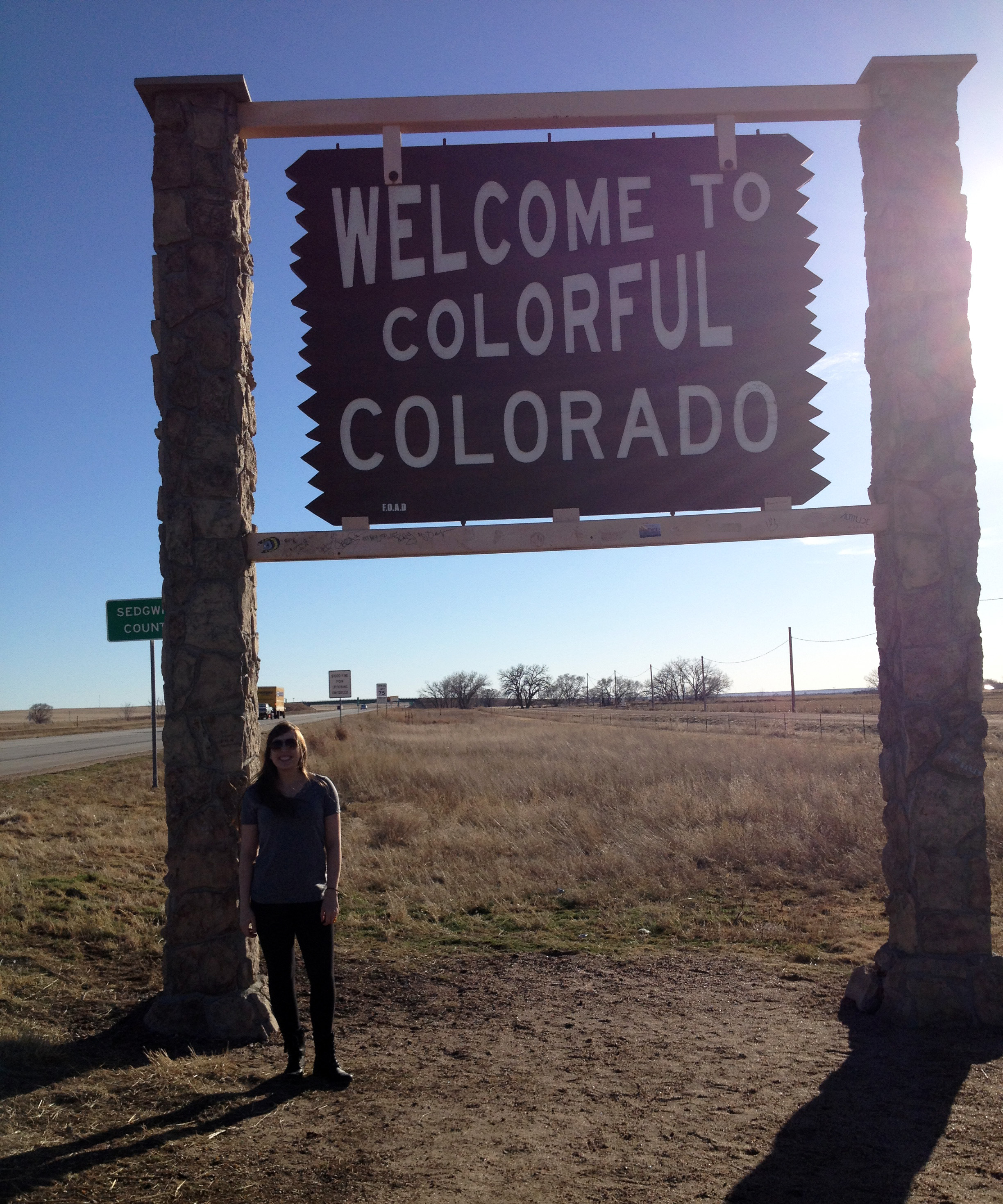 Finally! State #5 - COLORADO! I love this state.