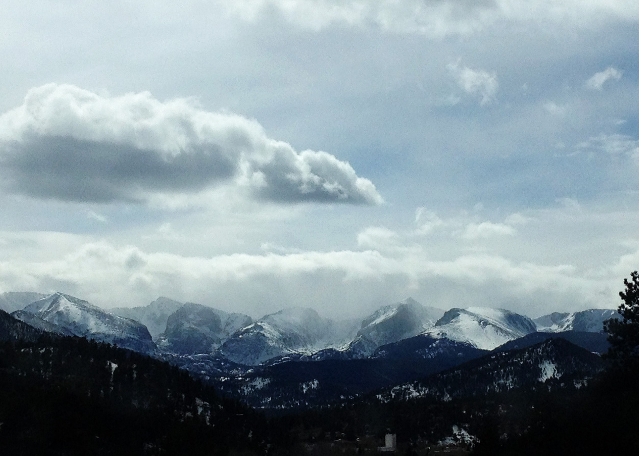 Last day in Estes Park, my home away from home. <3