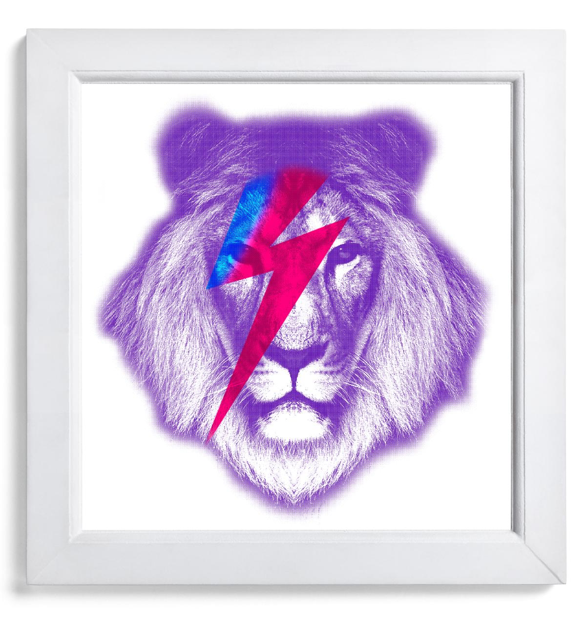 bowie lion-framed.jpg