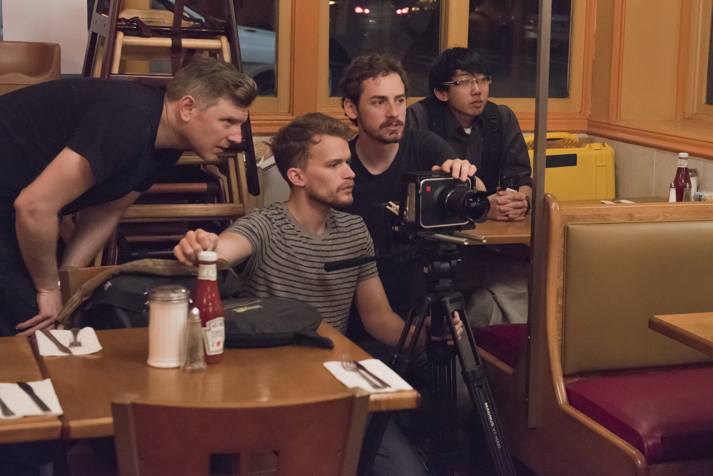 Ian Scott McGregor (writer), Will Mayo (director), Andrew Daugherty (DP), Jonathan Lau (sound mixer)