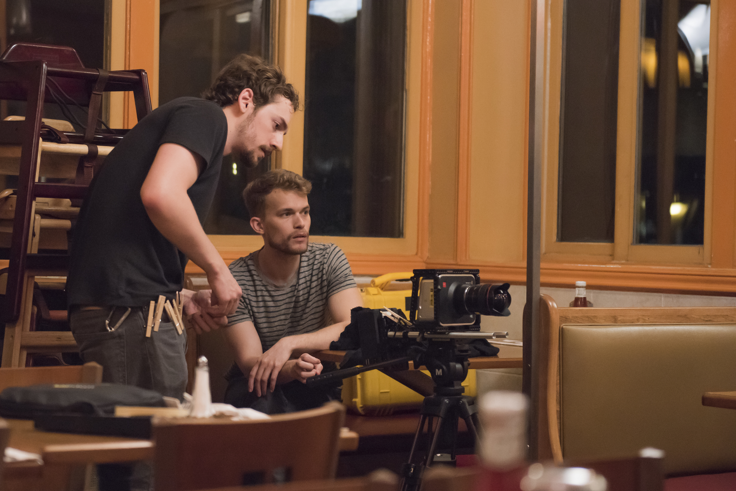 Andrew Daugherty (DP) & Will Mayo (Director)