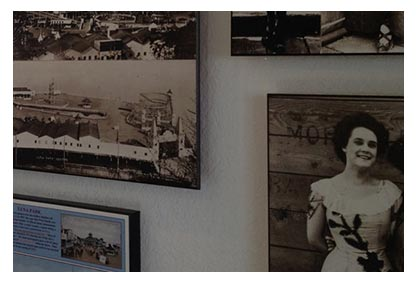 Alki history abound. Our walls will tell you the story...literally.