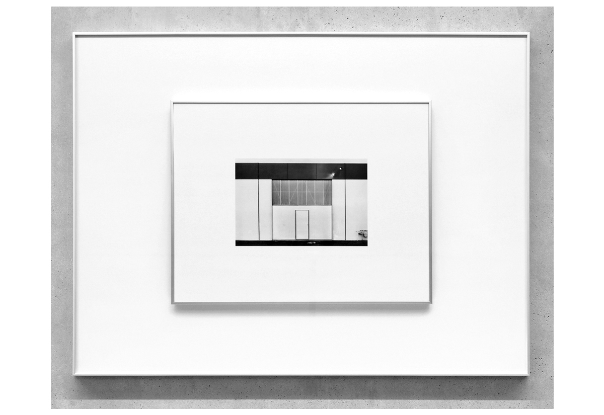 Reconsidering 1611 S. Boyd Street, St. Ana, California, by Lewis Baltz  [mirrored]