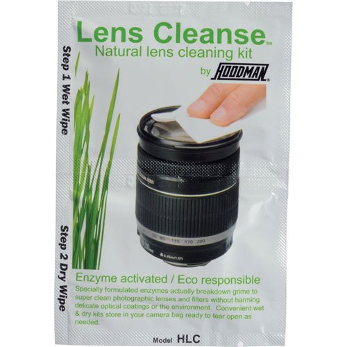 Hoodman Lens Cleanse Natural Lens Cleaning Wipes Kit