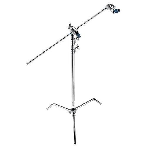 Avenger A2030DKIT Steel 40-Inch Detachable Base C-Stand with Grip Kit (Chrome)