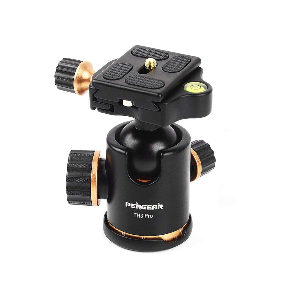 Pergear TH3 Pro DSLR Camera Tripod Ball Head