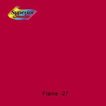 Superior Seamless Background Paper (#27 Flame, 107 in x 36 ft)