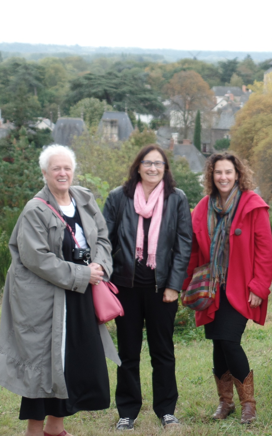 Savannieres Wine Day-October Writeaway in France-Ginny, Candace, Mimi.jpg