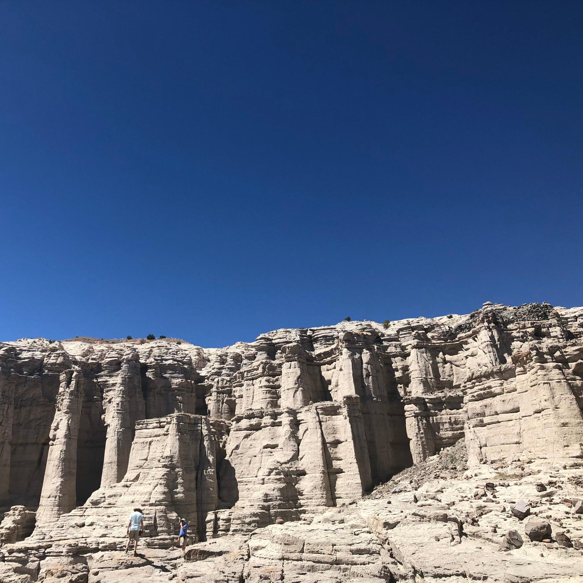 Big cliffs inspire - big writing ideas