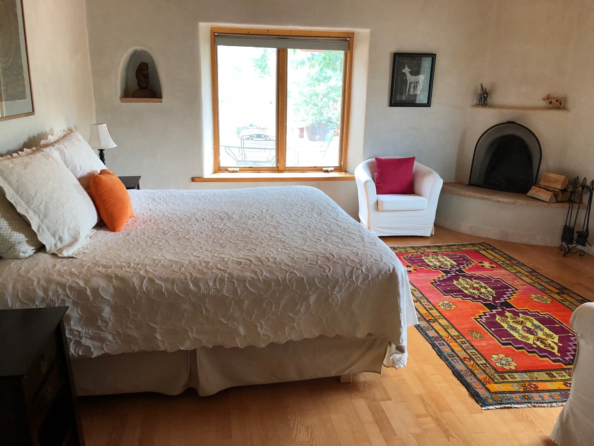 Accommodations - You've seen the photos: A fairytale castle in the Loire Valley, two Tuscan villas side by side, an adobe in Abiquiú, New Mexico.