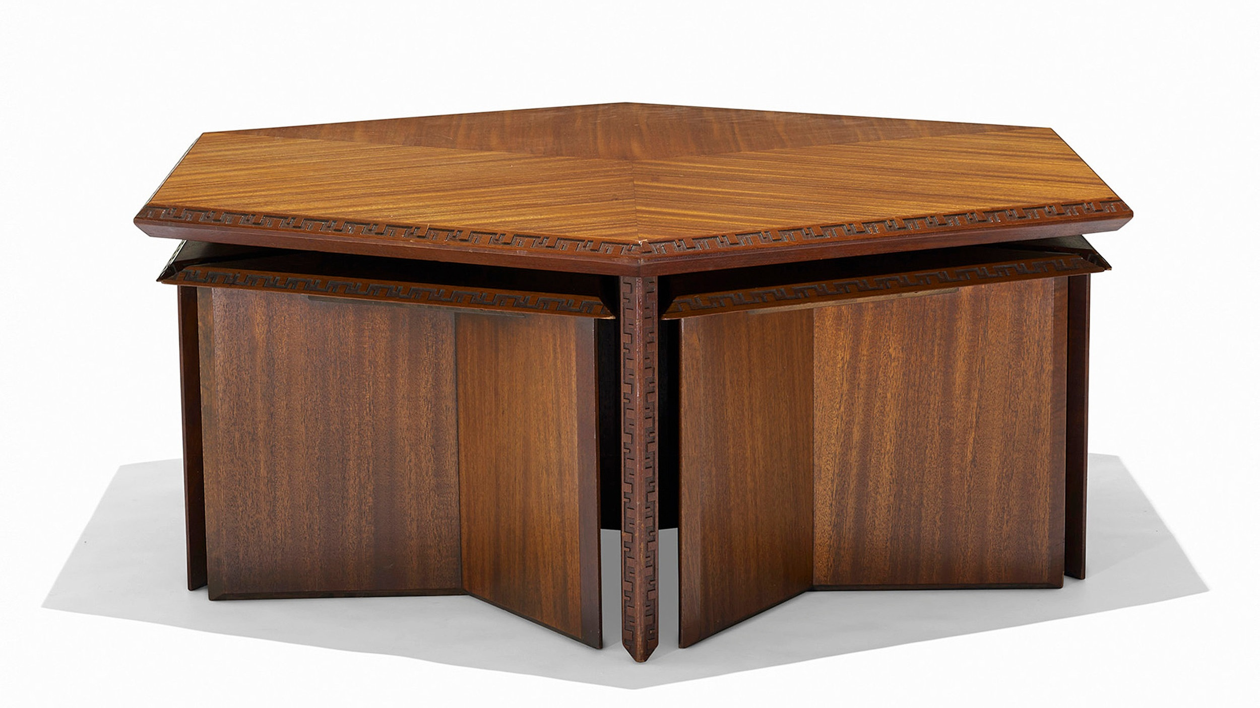 243_2_modern_design_march_2013_frank_lloyd_wright_table_model_453_c_and_six_stools_model_452_a__wright_auction.jpg
