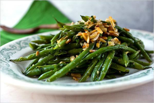 Green Bean Almandine