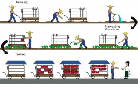 cart diagram