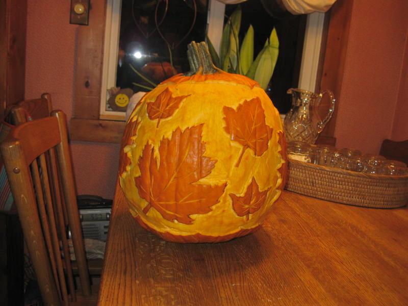 Thanksgiving pumpkin 2