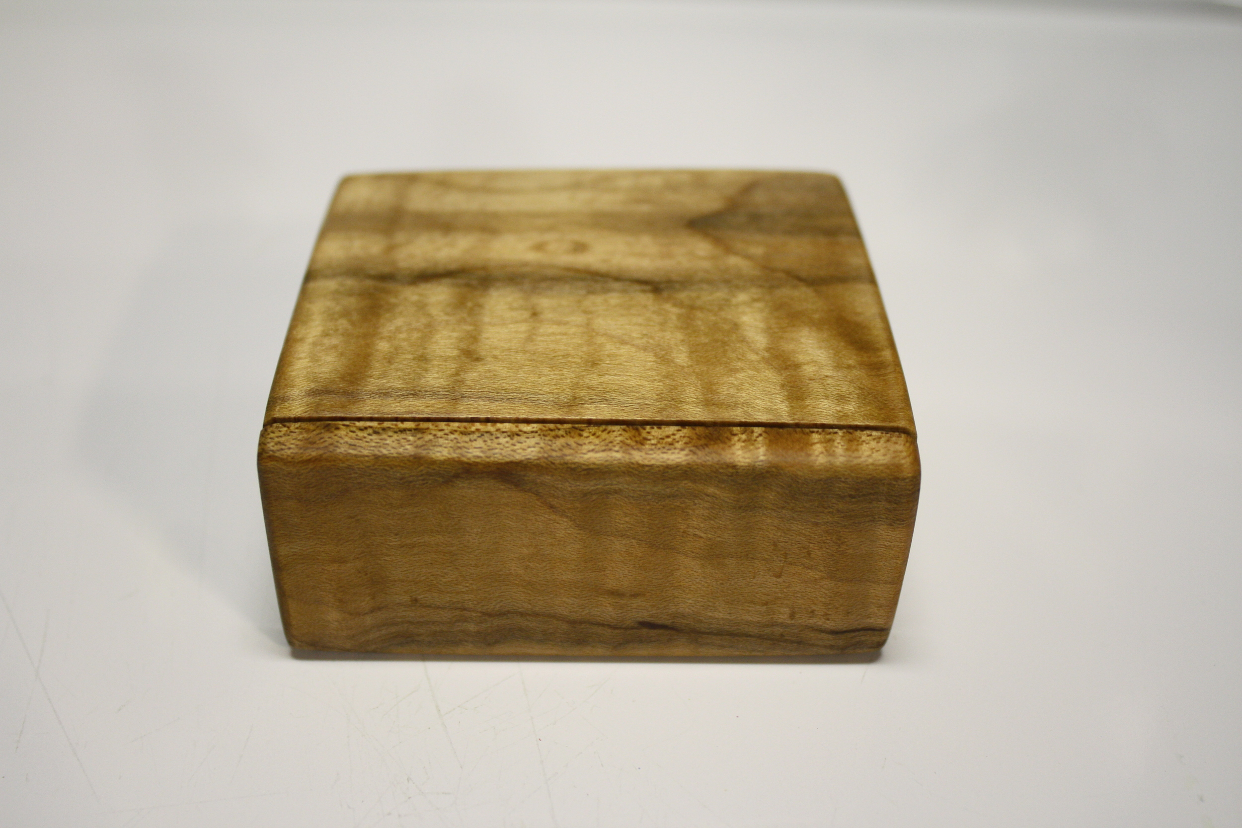 Figured Maple Jewelry Box