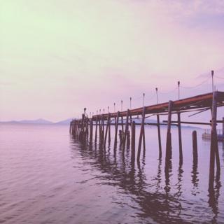 Pier, Ko Tao
