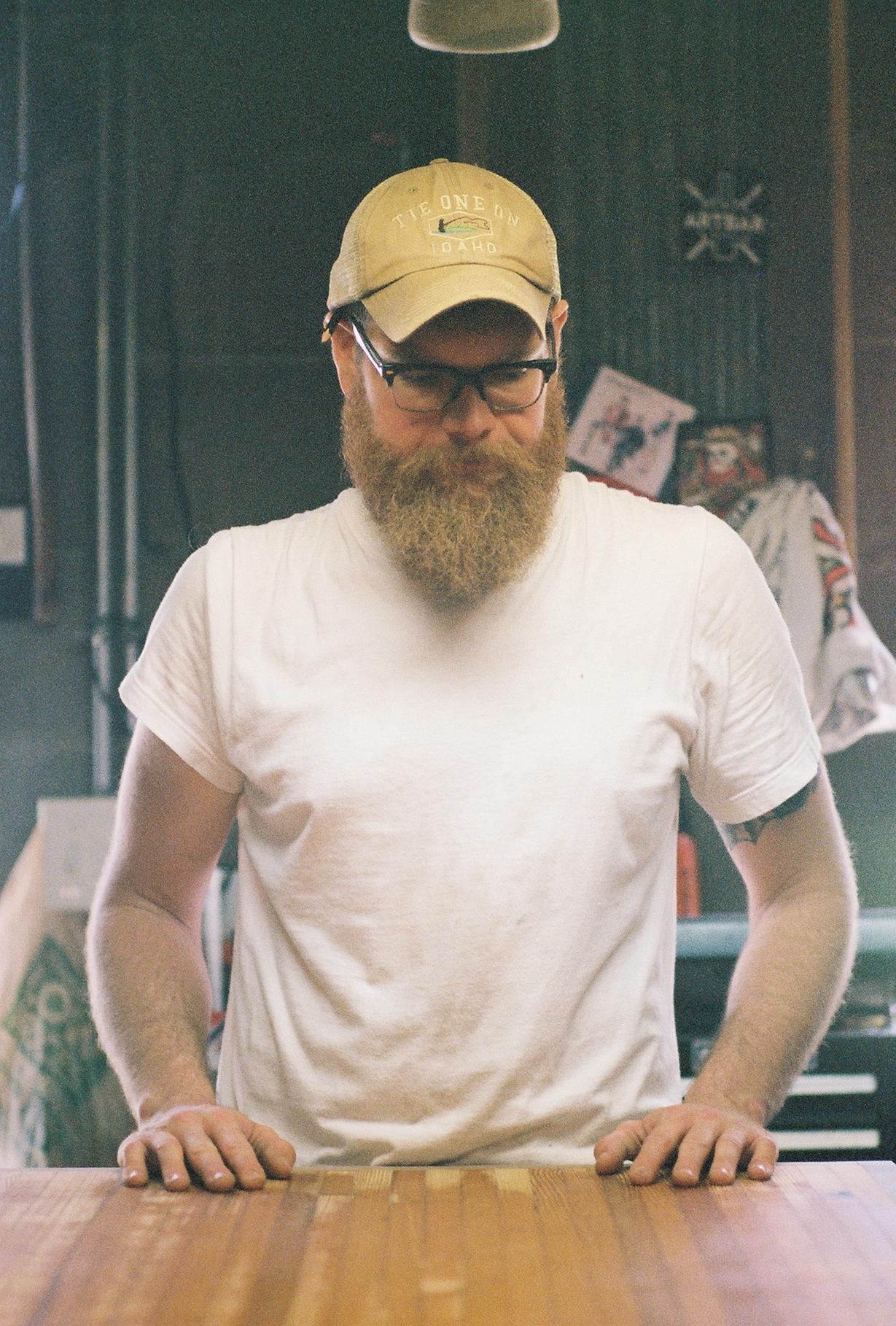 Drew Pritchett in 35mm