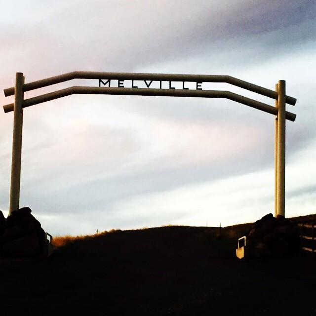 Melville tribute in Eastern Oregon. #hermanmelville #mobydick #booklove