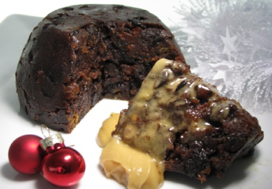 Christmas Pudding -The Ultimate Plum Pudding - The award winning Ultimate Plum Pudding is available in 3 sizes and in both No Gluten and Alcohol Free versions. There's a good balance of ingredients so flavours don't fight or dominate each other. The result is a light, sweet (but not too sweet), luxuriously delicious, celebratory pudding.