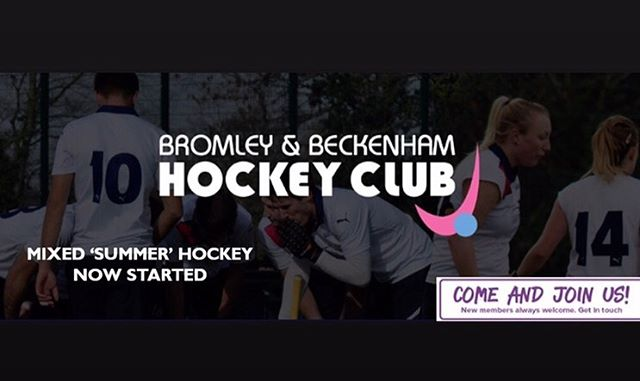 ‪Looking to play some friendly mixed hockey over the summer? Come join us #brombeckhc #hockey #hockeygb #summerhockey #mixedhockey #fieldhockey #summerfun #summerevenings #playhockey #mixedgames #mixed ‬