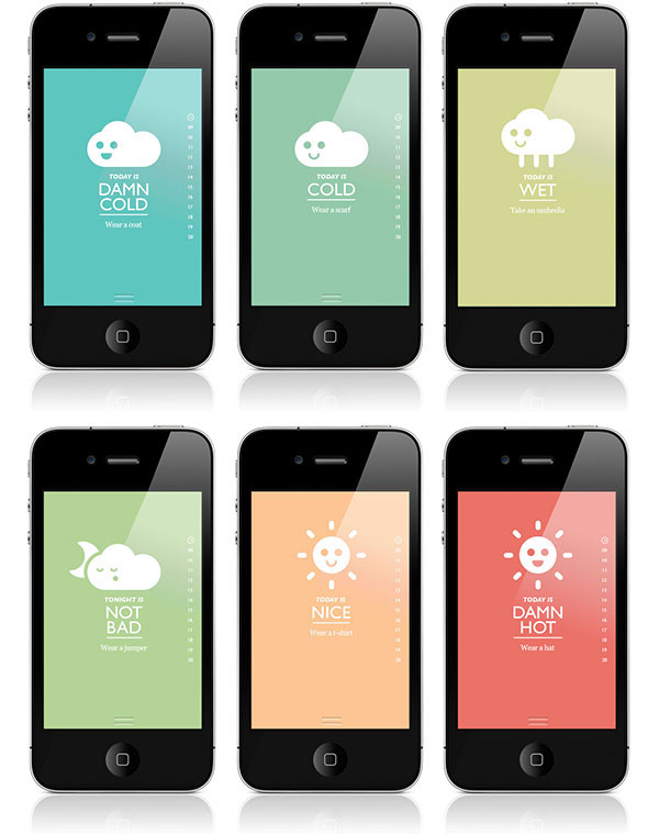 Is it Nice? is an emotionally-advisory weather app that learns the user