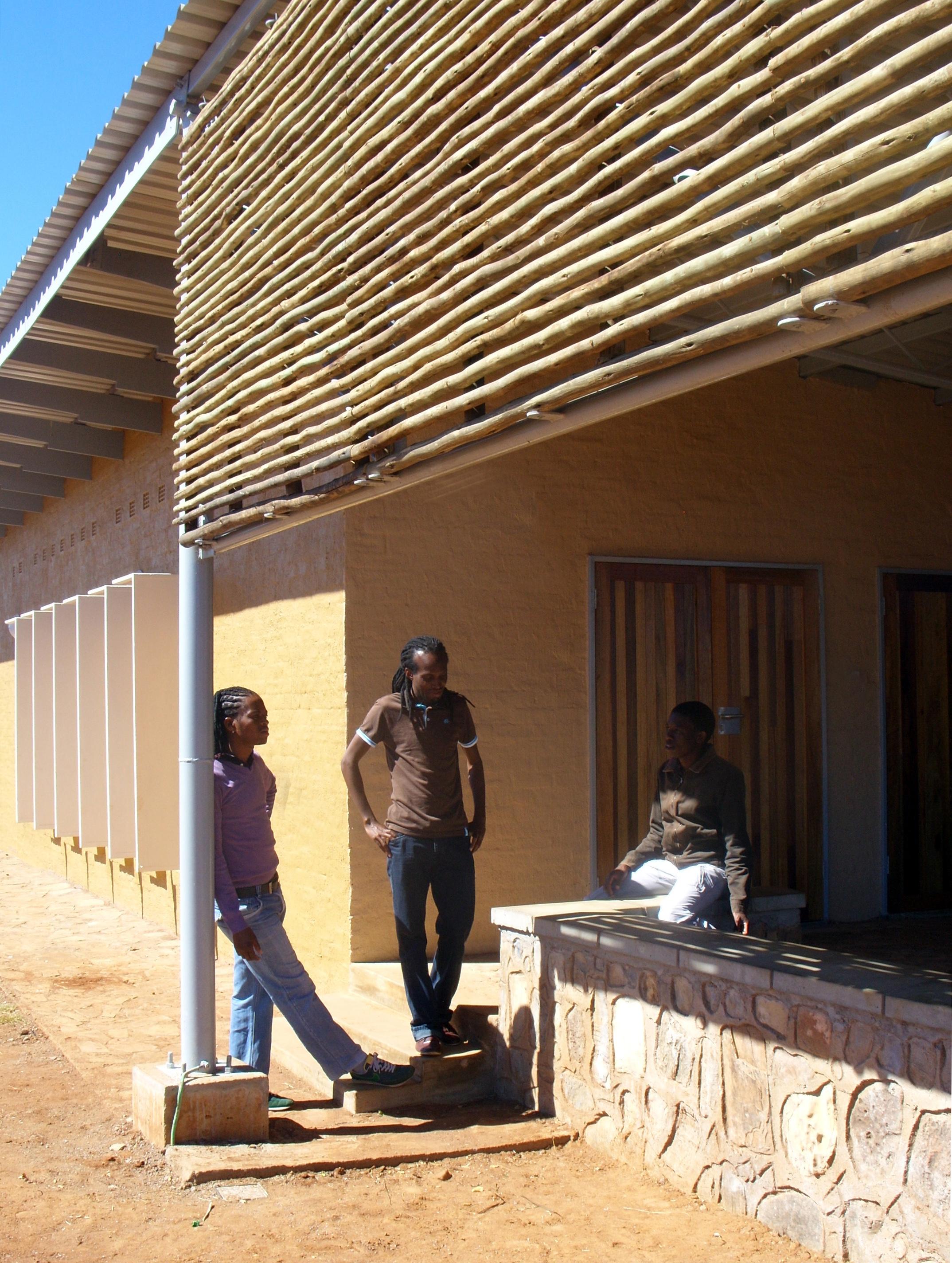 Outdoor seminar space