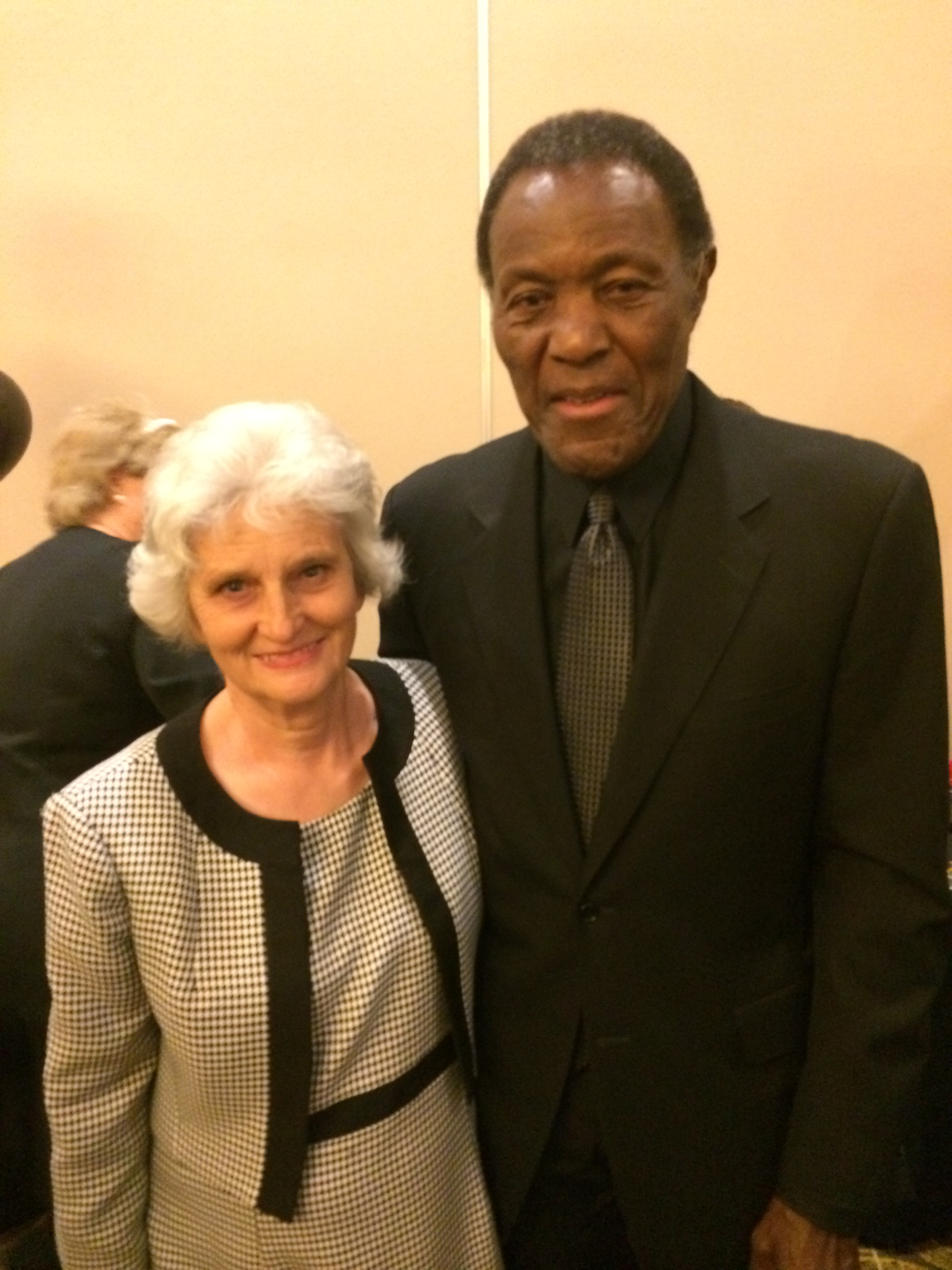 Mama Lynn & Rafer Johnson