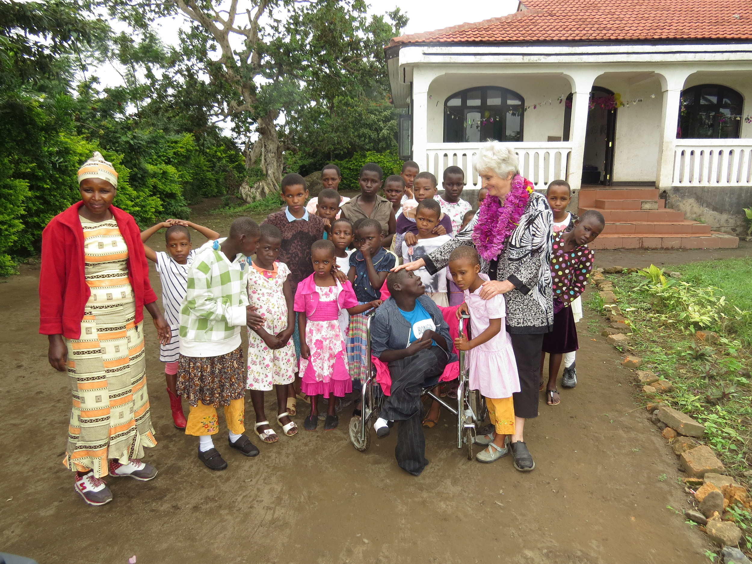 Neema in the wheelchair was one of the 38 children that arrived into our care in ONE day.