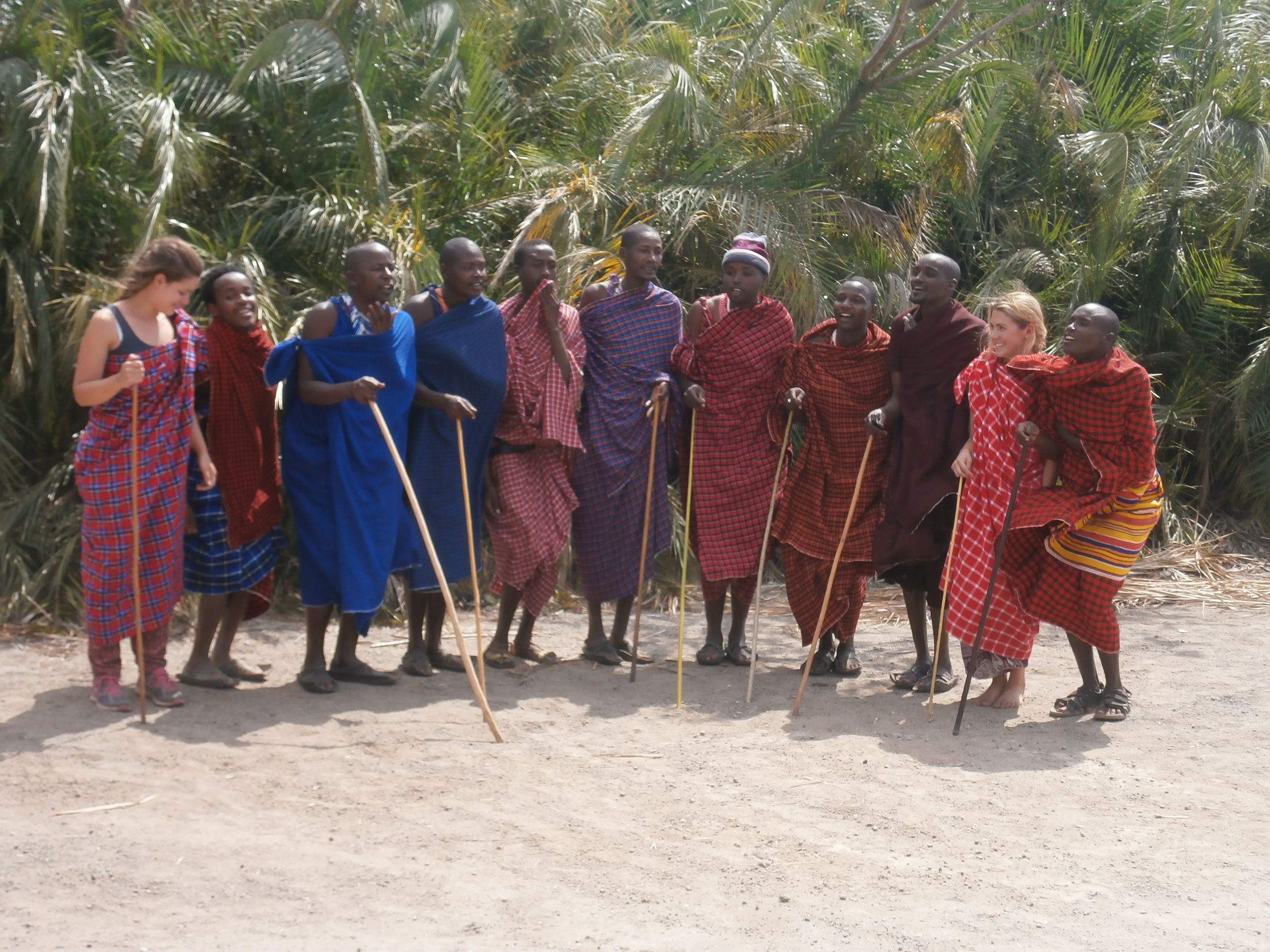 Thes maasai moran warriors really have rhytham when they dance the 'war' dance together.