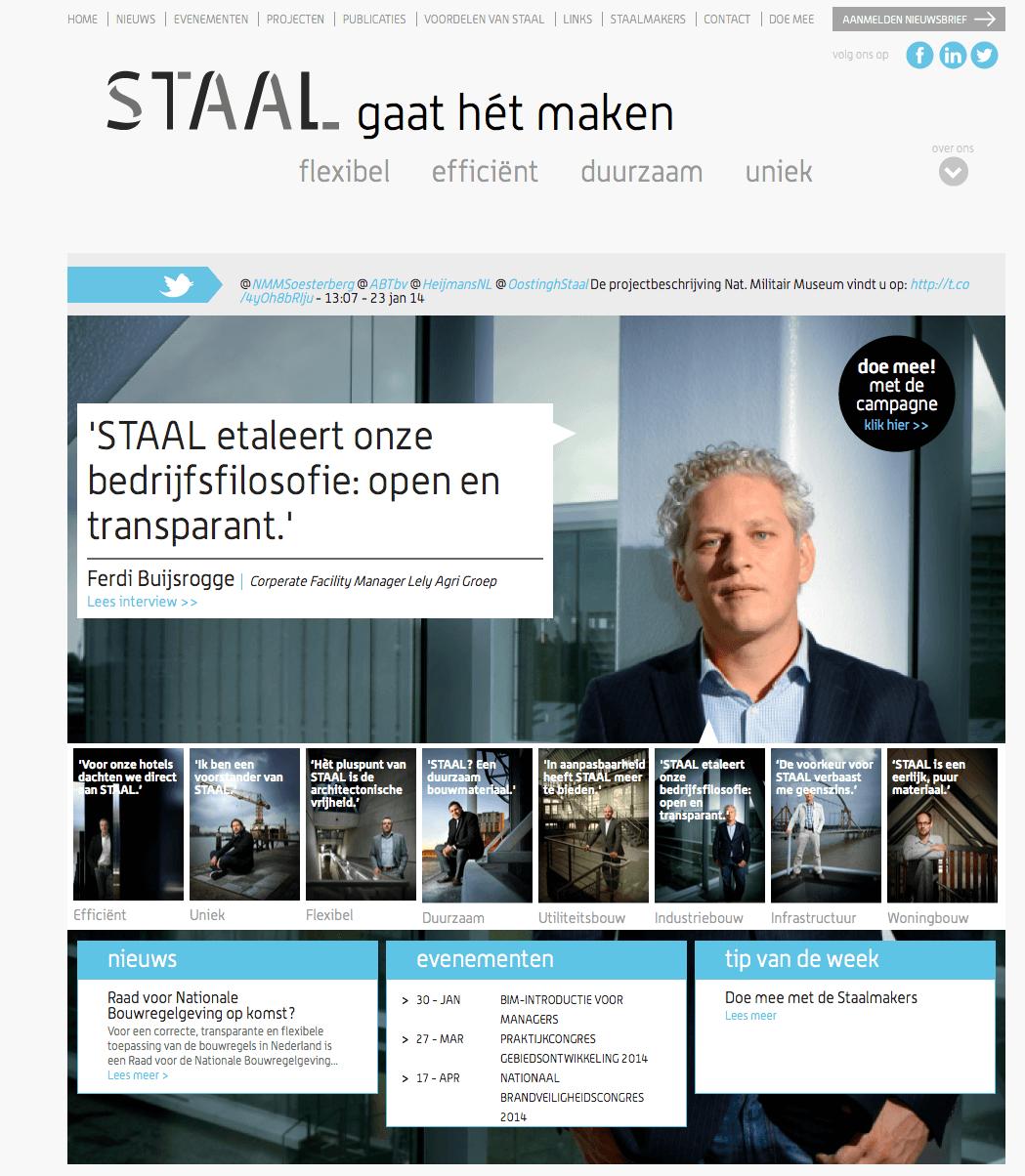 Website-Staalbranche
