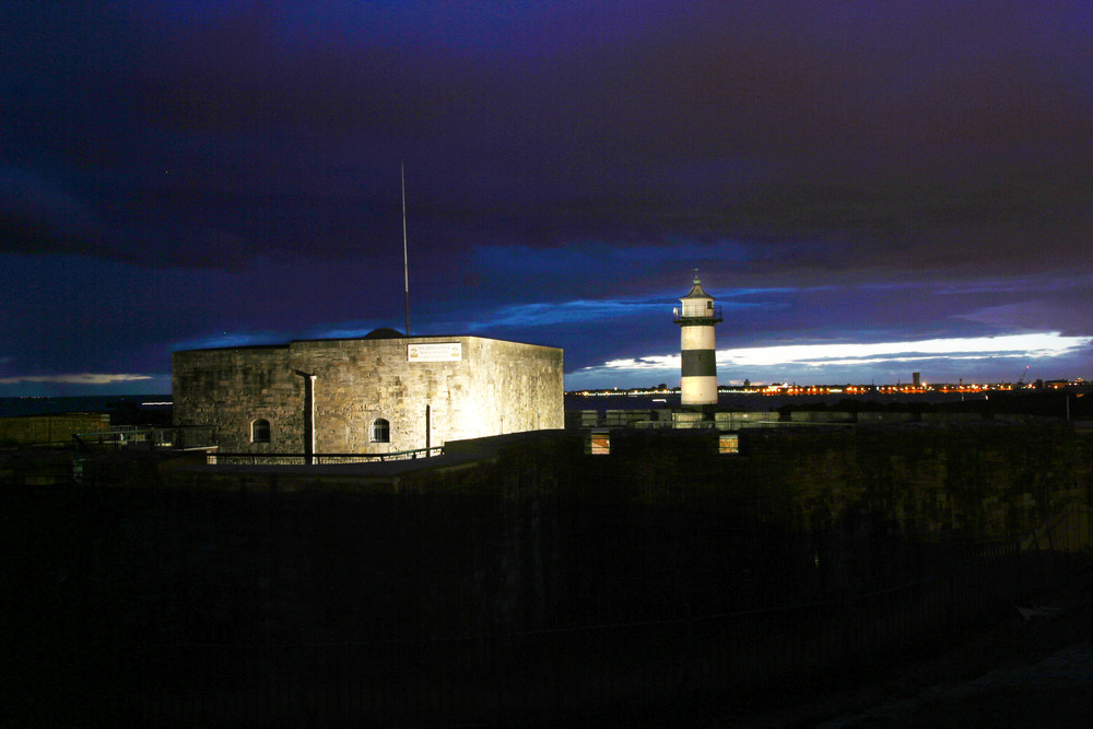 Southsea Castle at night.jpg
