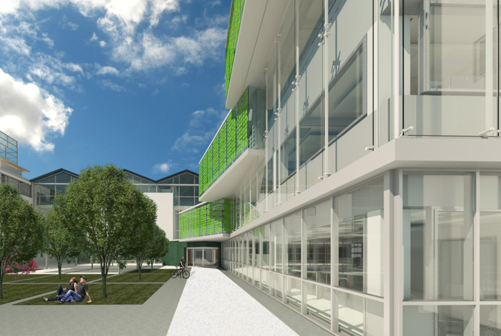 3D visualisation of the Future Technology Centre