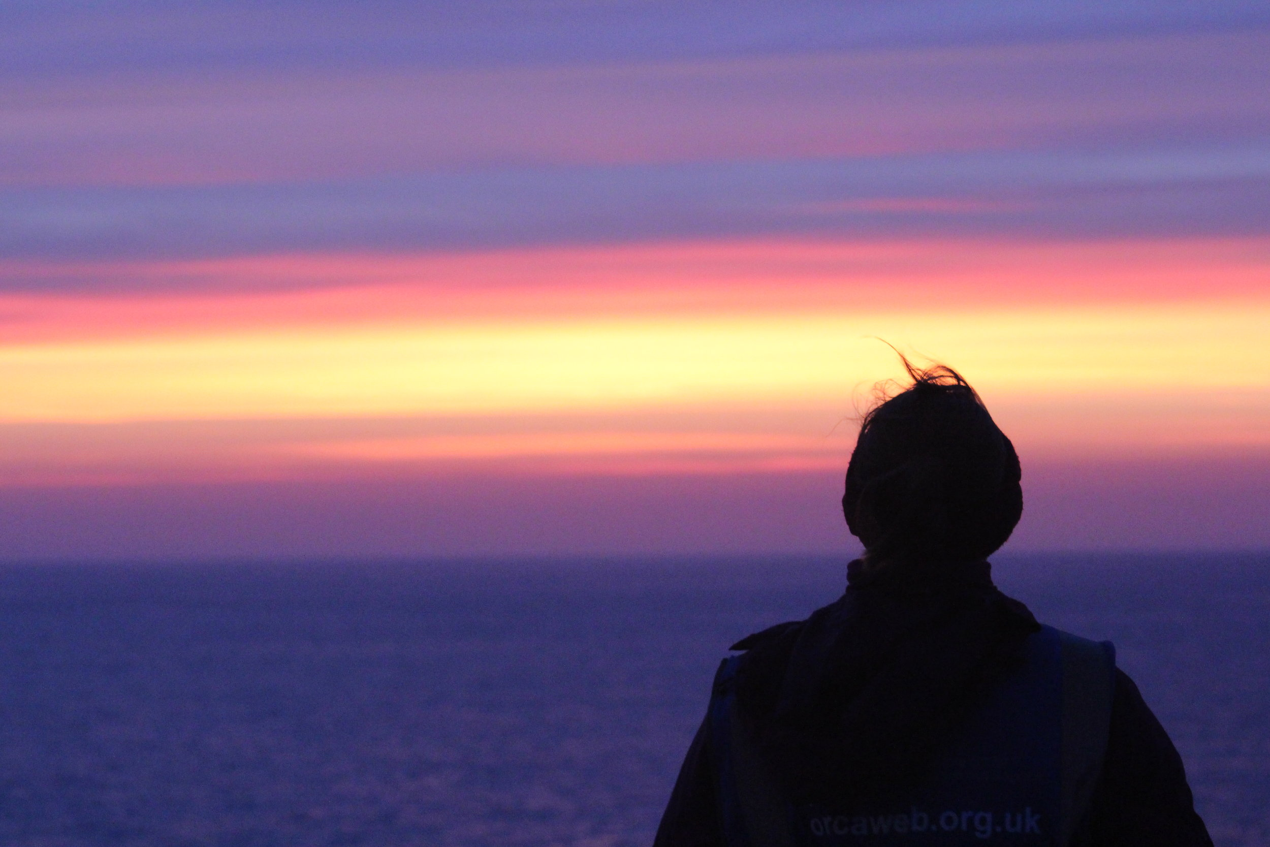 A stunning skyline in the Bay of Biscay