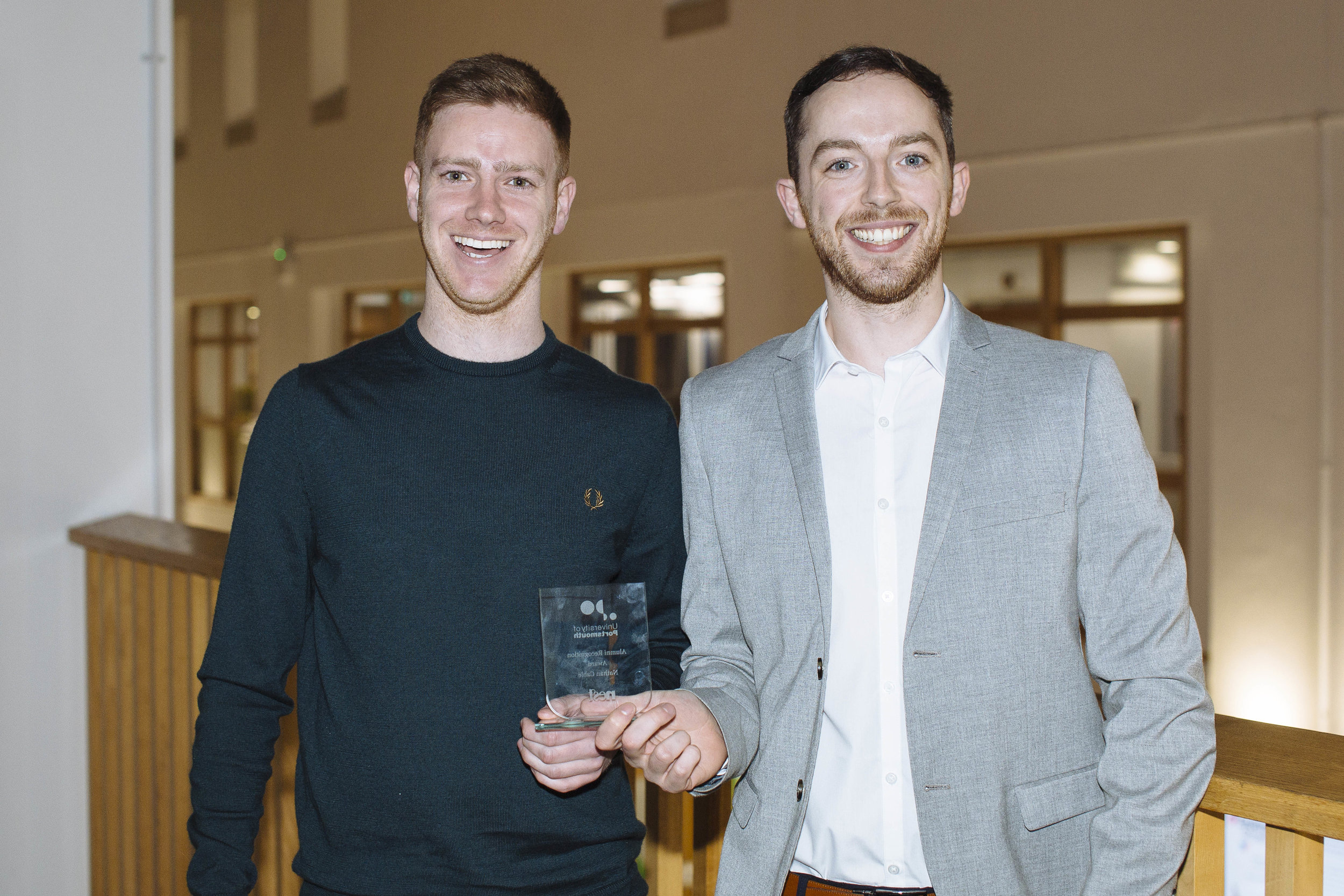 Barry Moore (left) has scooped a 30 under 30 TTG award for 2018
