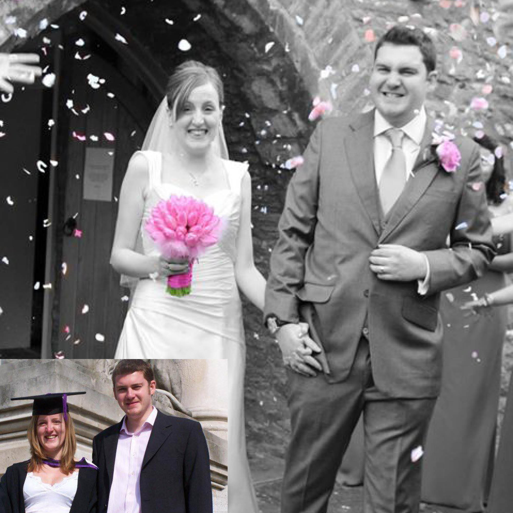 Adam and Melinda Spencer - ...also met in The Registry in 2003 and have been married for 8 years! Adam studied Criminology and Melinda studied Media Studies, and both graduated in 2006. They have 2 girls.