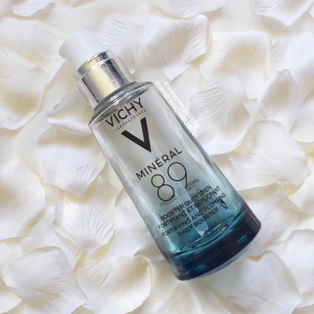 Bottle of Vichy Mineral 89