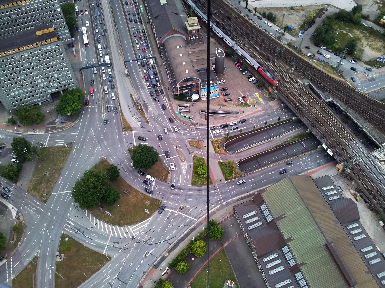 Aug 24, 2012: Hamburg from above