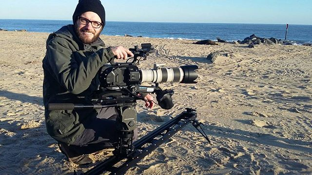 A cold but beautiful morning yesterday filming grey seals in Norfolk  #seals #fs7 #cineslider