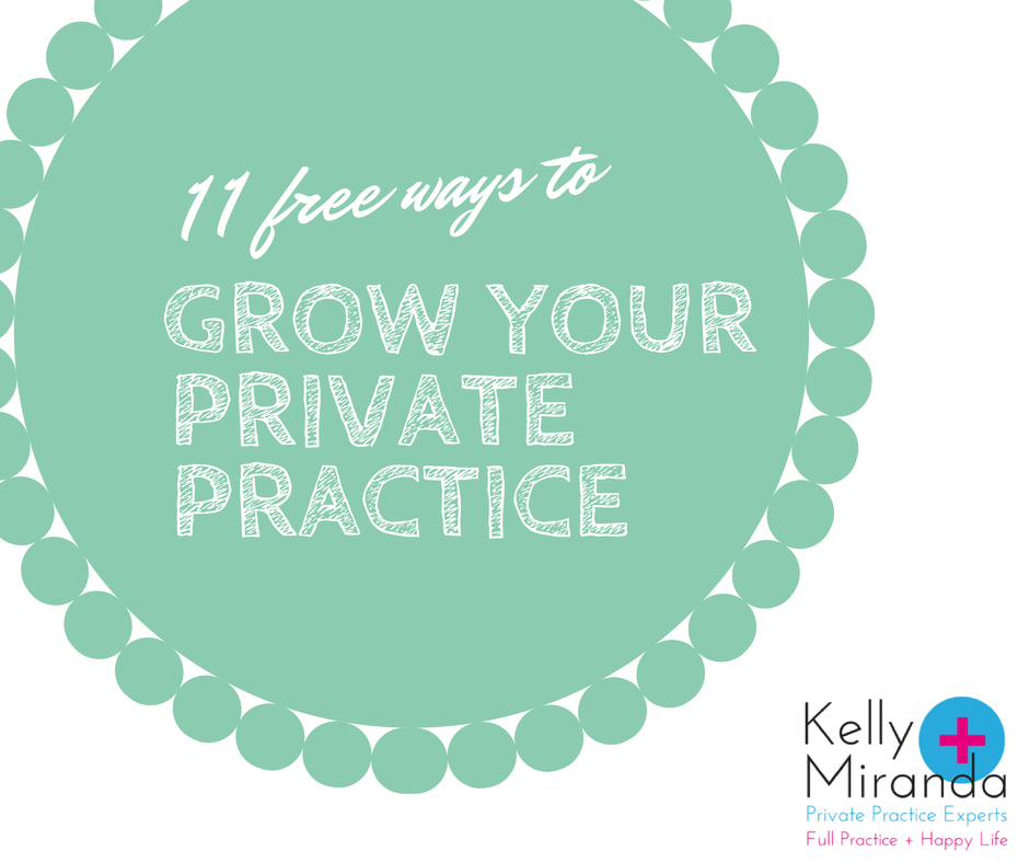free ways to start a private practice